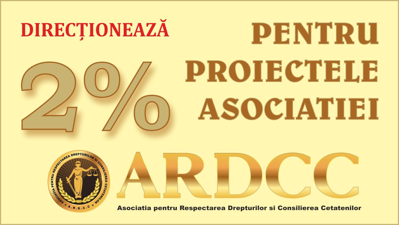 Direcționează 2% pentru proiectele noastre