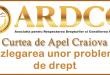 Curtea de Apel Craiova - Sesizarea ICCJ cu dezlegarea unor probleme de drept privind ajutoarele salariale neacordate militarilor după anul 2010