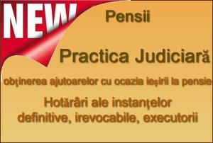Pensii – Practica Judiciara