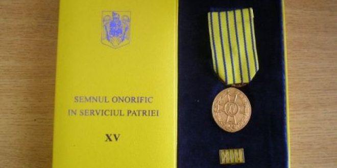 """In interesul militarilor si politistilor rezervisti, cat si al cadrelor active care urmeaza sa treaca in rezerva – Semnul Onorific"""", Ordinul Militar (OMM)"""